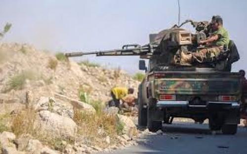 قوات الشرعية تكبد المليشيات عشرات القتلى والمصابين في تعز