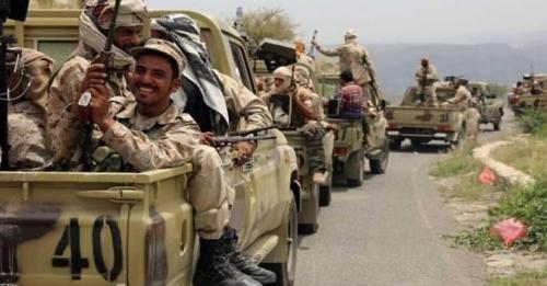 قوات الشرعية مدعومة بالتحالف تسيطر على أهم شوارع الحديدة