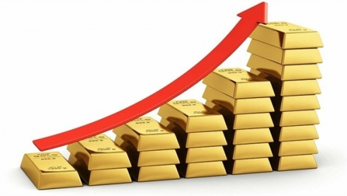 ارتفاع أسعار الذهب مع تراجع الدولار