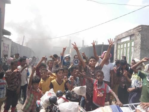 لليوم على السادس على التوالي.. احتجاجات جارفة في لحج (صورة)