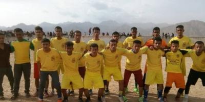 نادي المزاحمي يتعادل أيجابيا هدفا ً لهدف امام فريق محلاء بناء بدوري شهداء حبيل جبر.