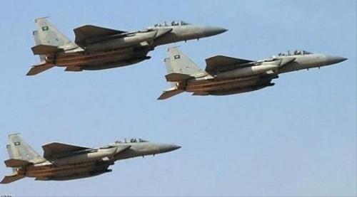 طيران التحالف العربي يدمر تعزيزات حوثية في البيضاء