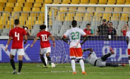 محمد صلاح يهدر ركلتي جزاء أمام النيجر