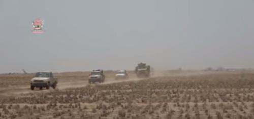 شاهد بالفيديو.. ألوية العمالقة تسيطر على شريان الحوثي العسكري