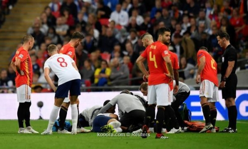 إصابة مرعبة وحذاء ذهبي أبرز مشاهد موقعة إنجلترا وإسبانيا