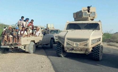 بالفيديو.. قوات ألوية العمالقة تتوغل داخل الحديدة