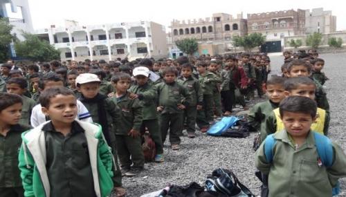 90 ألف طالب وطالبة يتوجهون إلى المدارس في مأرب