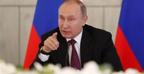 """بوتين يصل الأكاديمية الروسية ويؤكد على حرصه التصويت فى انتخابات """"عمدة موسكو"""""""