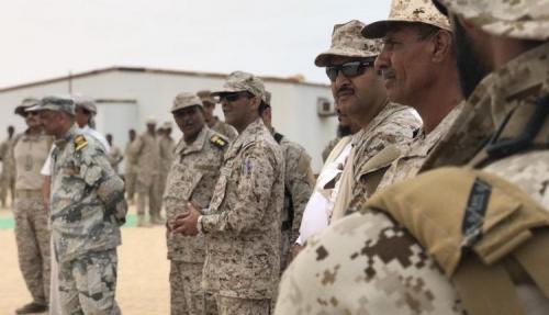 شاهد.. قيادات عسكرية جديدة للتحالف بالحديدة