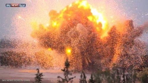 إطلاق صواريخ باتجاه مطار معيتيقة في العاصمة الليبية