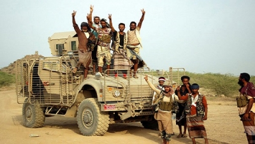 ألوية العمالقة تسيطر على خط كيلو 16 بالحديدة وتقطع إمداد الحوثيين