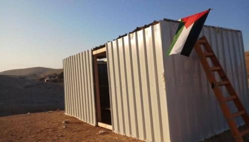 إسرائيل تهدم منازل قرب الخان الأحمر بالقدس المحتلة