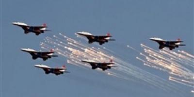 8 غارات للتحالف العربي على صنعاء وصعدة