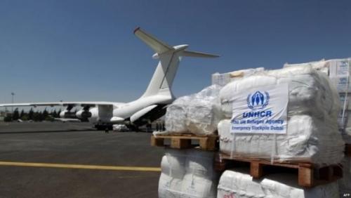 وصول 7 طائرات إلى مطار صنعاء تعرف على السبب