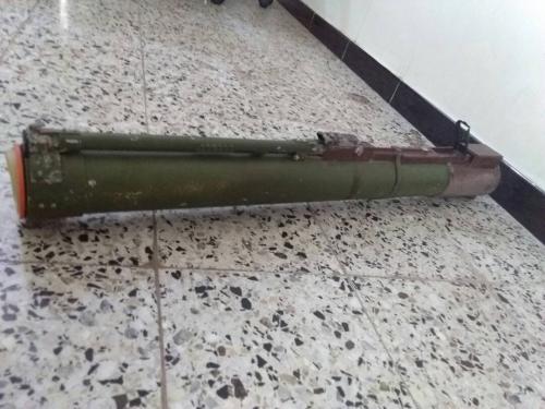 العثور على صاروخ حراري في صحراء الرباط بلحج