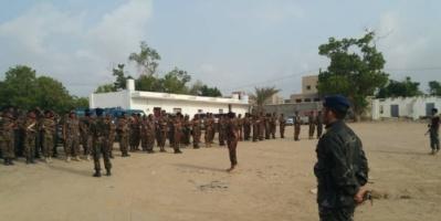 بالصور.. عرض عسكري مهيب لقوات الأمن الخاصة بأبين