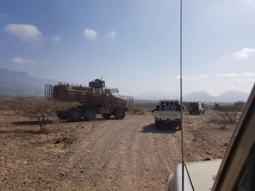 صور.. مداهمة أوكار تنظيم القاعدة في مودية ولودر.. تعرف على النتائج