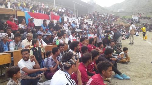 وسط حضور رسمي وشعبي 21 مايو بطل لكاس بطولة الفقيد سامي صالح السليماني في يافع