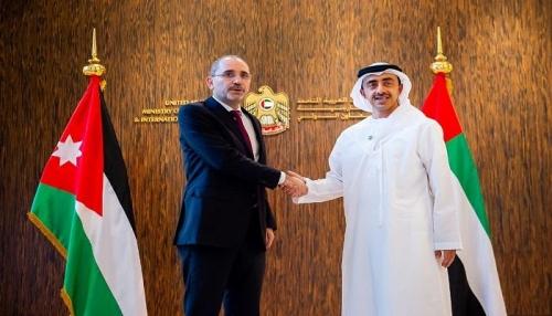 شاهد.. عبدالله بن زايد يبحث تعزيز التعاون المشترك مع وزير خارجية الأردن