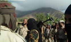 شاهد.. مداهمة أوكار تنظيم القاعدة في أبين