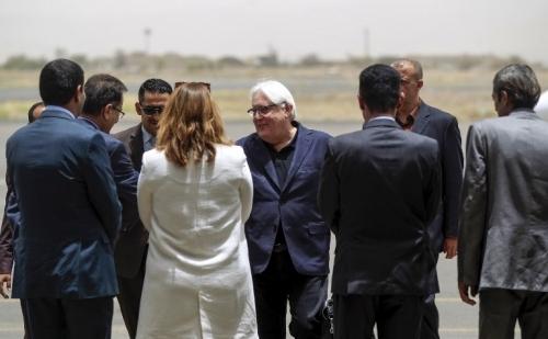 جريفيت الى صنعاء لإنعاش مشاورات السلام