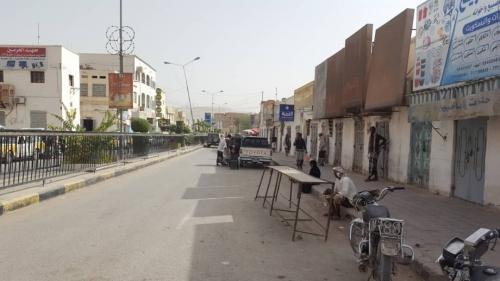 عصيان مدني شامل يشل الحركة في مدينة سيئون بوادي حضرموت