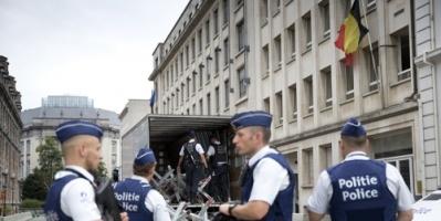 مسلح يطعن شرطي بلجيكي في بروكسل
