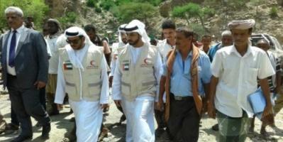 الهلال الأحمر الإماراتي يفتتح مشروع مياه القبيطة بتكلفة 500 مليون ريال