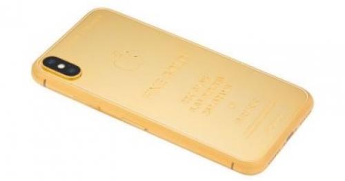 نسخة مصنوعة من الذهب لآيفون Xs Max بسعر 72 ألف جنيه إسترلينى