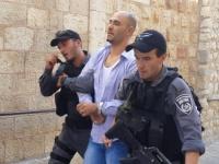 الاحتلال يعتقل عددا من حراس المسجد الأقصى