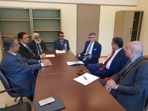 عسكر يلتقي سفراء مجموعة النواة العربية في مجلس حقوق الانسان