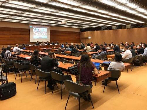 نجاح كبير لندوة المجموعة الجنوبية المستقلة بمجلس حقوق الانسان التابع للأمم المتحدة
