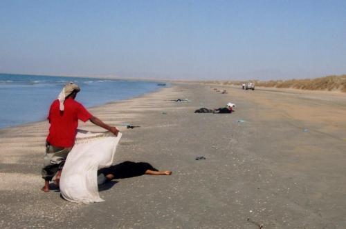 سواحل اليمن ساحة  مفتوحة للاتجار بالبشر والمخدرات