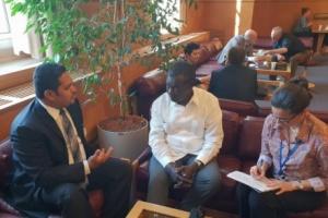 سفير كوبا في الامم المتحدة  يؤكد دعم بلاده للقرار الذي تتبناه اليمن في المجلس