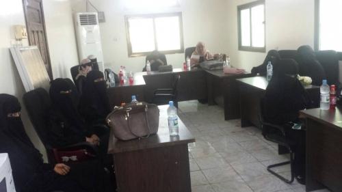 القيادة المحلية لانتقالي لحج تعقد لقاءً موسعا مع القيادات النسوية في الحوطة وتبن