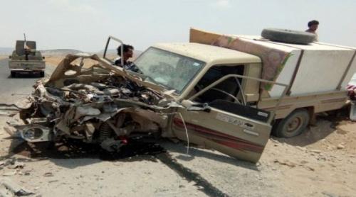 انفجار لغم حوثي وإصابة أحد أفراد اللواء الثالث بكهبوب
