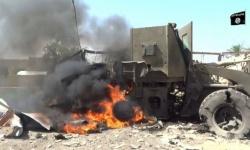 70 مليون دولار احترقت في قصف طال مجموعة من عناصر القاعدة في حضرموت