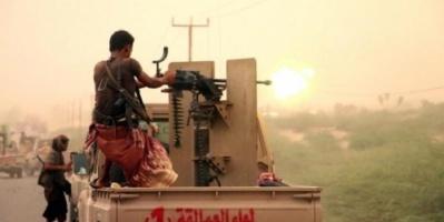 قوات العمالقة تسيطر كلياً على معسكر الدفاع الجوي في الحديدة