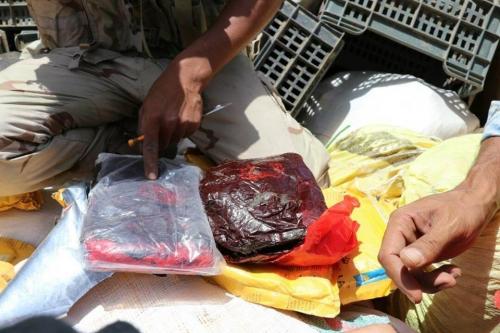 ضبط كمية كبيرة من المخدرات بمأرب كانت في طريقها للحوثيين