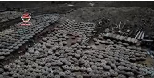 شاهد بالفيديو.. نزع وتفكيك آلاف الألغام الحوثية في الساحل الغربي