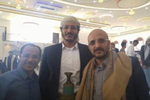 شاهد.. أول صورة لأبناء علي صالح بعد إفراج الحوثيين عنهم