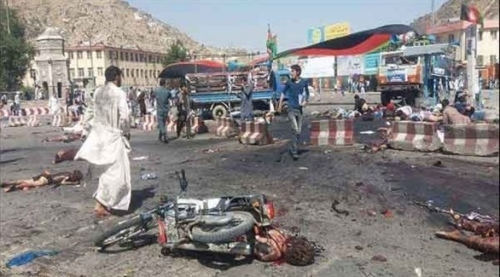 مقتل 7 أطفال في انفجار عبوة ناسفة في أفغانستان