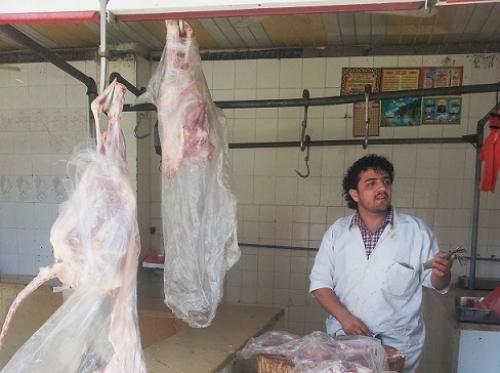 ارتفاع غير مسبوق في أسعار اللحوم بصنعاء