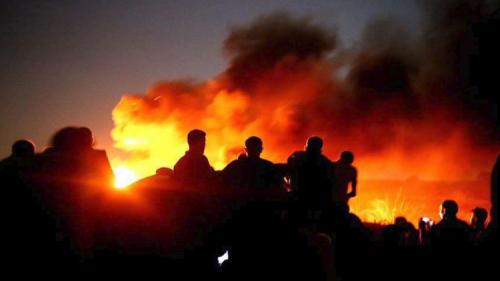 مقتل فلسطيني برصاص جنود إسرائيليين على حدود غزة