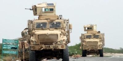 """""""العمالقة"""" تسيطر على تحصينات لميليشيات الحوثي عقب عملية تمشيط واسعة غرب التحيتا"""