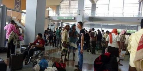 مغادرة 70 من جرحى الساحل إلى مصر لتلقي العلاج