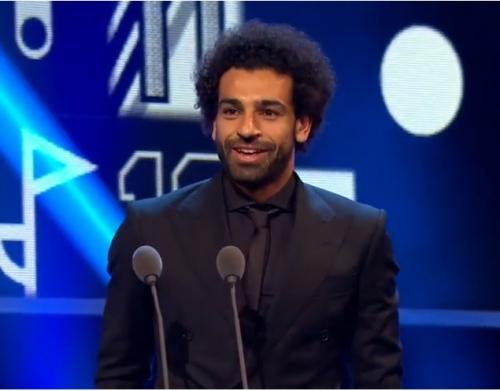 محمد صلاح يحصل علي جائزة بوشكاش لافضل هدف في العالم أمام إيفرتون.