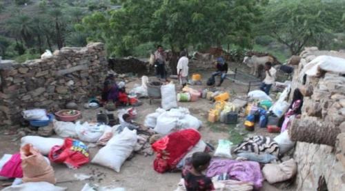 شاهد.. ماذا فعلت مليشيا الحوثي في 45 أسرة من قرية الكدمة بتعز؟