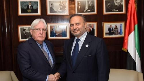 قرقاش: سندعم بالكامل مقترحات الأمم المتحدة لمحادثات جديدة في اليمن