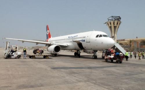 خلل فني يمنع طائرة الخطوط اليمنية من سفرها بمطار عدن
